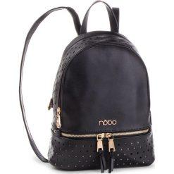 Plecak NOBO - NBAG-F2450-C020 Czarny. Czarne plecaki damskie Nobo, ze skóry ekologicznej. W wyprzedaży za 199.00 zł.