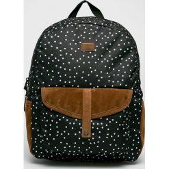 Roxy - Plecak Carribean. Czarne plecaki damskie Roxy, z materiału. Za 169.90 zł.