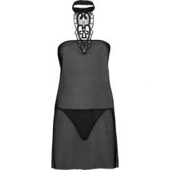 Koszulka nocna + stringi (2 części) bonprix czarny. Koszule nocne damskie marki MAKE ME BIO. Za 59.99 zł.