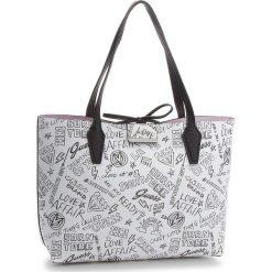 Torebka GUESS - HWGF64 22150  GFR. Białe torebki do ręki damskie Guess, ze skóry ekologicznej. W wyprzedaży za 419.00 zł.