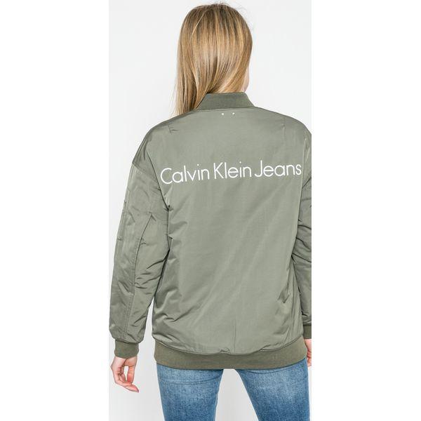 82a88294d Calvin Klein Jeans - Kurtka bomber - Kurtki damskie Calvin Klein ...