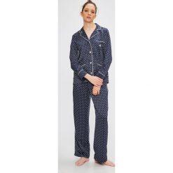 Lauren Ralph Lauren - Piżama. Szare piżamy damskie Lauren Ralph Lauren, z bawełny. W wyprzedaży za 459.90 zł.