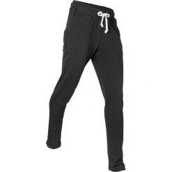 Spodnie dresowe do relaksu, długie, Level 1 bonprix czarny melanż. Czarne spodnie dresowe damskie bonprix, melanż, z dresówki. Za 74.99 zł.