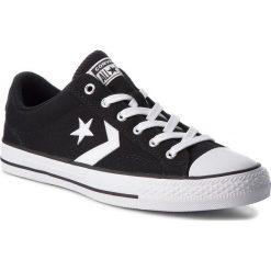 Trampki CONVERSE - Star Player Ox 161595C Black/White/White. Czarne trampki męskie Converse, z gumy. W wyprzedaży za 209.00 zł.