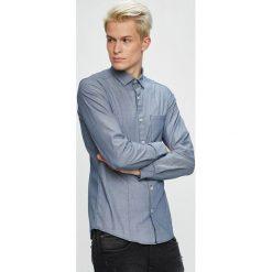 S. Oliver - Koszula. Szare koszule męskie S.Oliver, z bawełny, z klasycznym kołnierzykiem, z długim rękawem. W wyprzedaży za 129.90 zł.