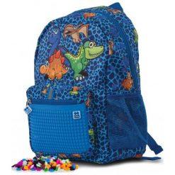 Pixie Crew Plecak Dziecięcy Z Motywem Dinozaurów, Z Pikselami. Niebieskie torby i plecaki dziecięce Pixie Crew. Za 88.00 zł.