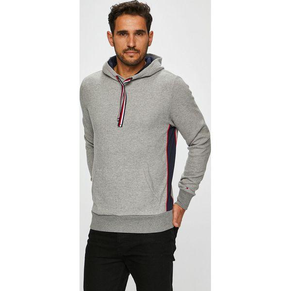 fa0365dc54e436 Tommy Hilfiger - Bluza - Szare bluzy męskie marki Tommy Hilfiger, z ...
