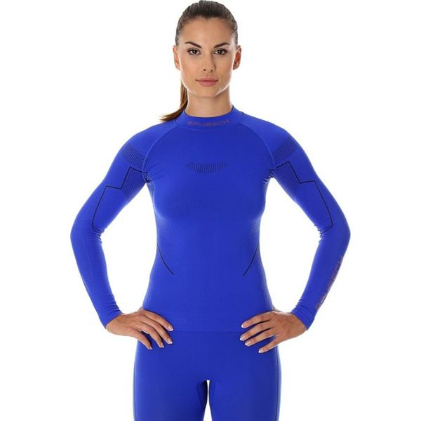 a7e65677678133 Brubeck Bluza termoaktywna damska Thermo niebieska r. S (LS13100 ...
