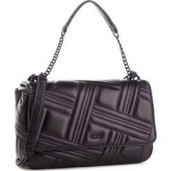 Torebka DKNY - Allen Lg Flap Shoulder R833B637 Blk/Black BBL. Czarne torebki do ręki damskie DKNY, ze skóry. Za 1,069.00 zł.