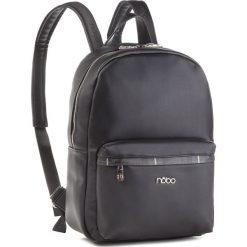 Plecak NOBO - NBAG-MF0020-C020 Czarny. Czarne plecaki damskie Nobo, ze skóry ekologicznej. W wyprzedaży za 189.00 zł.