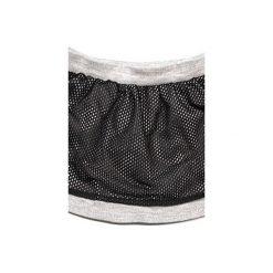Spódniczka podwójna z siateczką. Szare spódniczki dla dziewczynek New kids on the spot, z bawełny. Za 65.00 zł.
