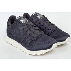 Reebok Classic - Buty Cl Lthr Satin. Szare obuwie sportowe damskie Reebok Classic, z gumy. W wyprzedaży za 219.90 zł.