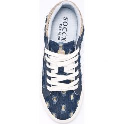 Soccx - Tenisówki. Szare trampki i tenisówki damskie Soccx, z gumy. W wyprzedaży za 199.90 zł.