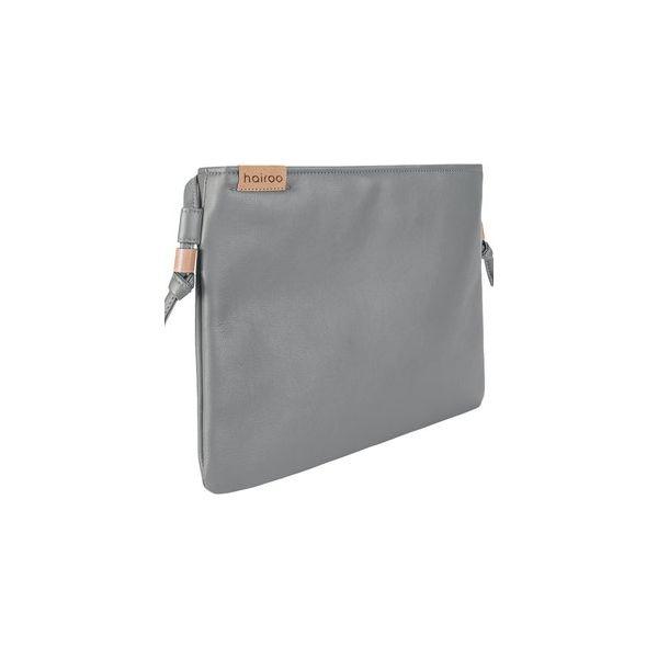 9348552c0d08d Nodo bag szara kopertówka z paskiem na ramię - Kopertówki damskie ...