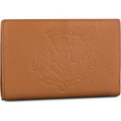 Duży Portfel Damski LAUREN RALPH LAUREN - New Compact 432707746002 Brown. Brązowe portfele damskie Lauren Ralph Lauren, ze skóry. Za 529.90 zł.