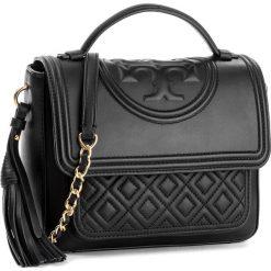 Torebka TORY BURCH - Fleming Satchel 45147 Black 001. Czarne torebki do ręki damskie Tory Burch, ze skóry. Za 2,169.00 zł.