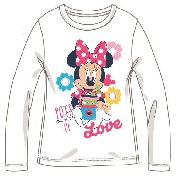 7e29d683923a16 Disney By Arnetta Koszulka Dziewczęca Minnie 110 Biały - Białe ...