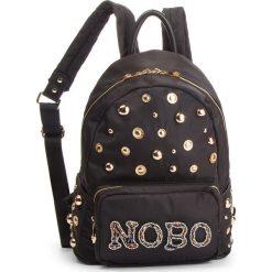 Plecak NOBO - NBAG-F4180-C020 Czarny. Czarne plecaki damskie Nobo, z materiału, klasyczne. W wyprzedaży za 179.00 zł.