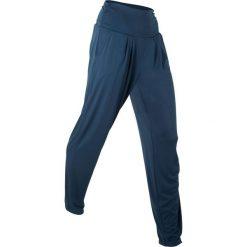 """Spodnie haremki """"wellness"""", długie, Level 1 bonprix ciemnoniebieski. Spodnie materiałowe damskie marki Nike. Za 74.99 zł."""