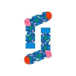 Skarpetki Happy Socks - Holiday XMAS (TRE01-6000). Szare skarpety męskie Happy Socks, w kolorowe wzory, z bawełny. Za 34.90 zł.