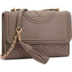Torebka TORY BURCH - Small Convertible Shoulder Bag 43834 Silver Maple 963. Brązowe torebki do ręki damskie Tory Burch, ze skóry. Za 2,019.00 zł.