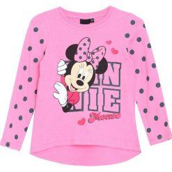 Fioletowa Koszulka Pink Girl. Fioletowe bluzki dla dziewczynek Born2be, z okrągłym kołnierzem. Za 39.99 zł.