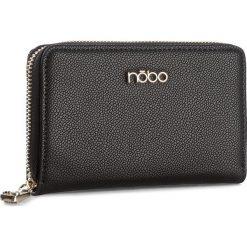 Duży Portfel Damski NOBO - NPUR-D1040-C020 Czarny. Czarne portfele damskie Nobo, ze skóry ekologicznej. W wyprzedaży za 79.00 zł.
