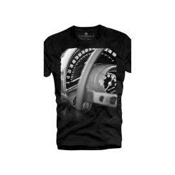 T-shirt UNDERWORLD Ring spun cotton Speedometer. Czarne t-shirty męskie Underworld, z nadrukiem, z bawełny. Za 59.99 zł.