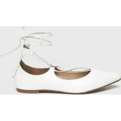 Answear - Baleriny Lily Shoes. Szare baleriny damskie ANSWEAR, z materiału. W wyprzedaży za 49.90 zł.