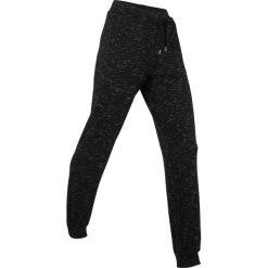 Spodnie sportowe, długie, Level 1 bonprix czarny melanż. Spodnie dresowe damskie marki bonprix. Za 109.99 zł.