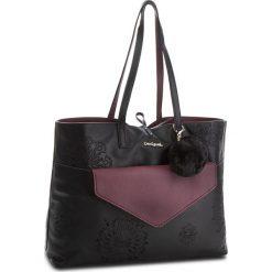 Torebka DESIGUAL - 18WAXPCW 2000. Czarne torebki do ręki damskie Desigual, ze skóry ekologicznej. W wyprzedaży za 249.00 zł.