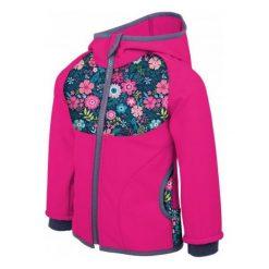 Unuo Kurtka Softshell Dziewczęca Kwiaty 92 - 98 Różowa. Czerwone kurtki i płaszcze dla dziewczynek Unuo, w kwiaty, z softshellu. Za 135.00 zł.