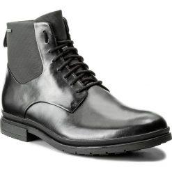 Kozaki CLARKS - Londonpace Gtx GORE-TEX 261269287 Black Leather. Czarne kozaki męskie Clarks, z gore-texu, eleganckie. Za 669.00 zł.