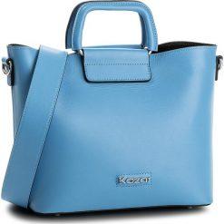 Torebka KAZAR - Valence 32430-01-10 Blue 10. Niebieskie torby na ramię damskie Kazar. W wyprzedaży za 529.00 zł.
