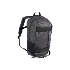 Plecak do deskorolki MID 23 L szaro-czarny. Czarne plecaki damskie OXELO, z materiału. Za 69.99 zł.