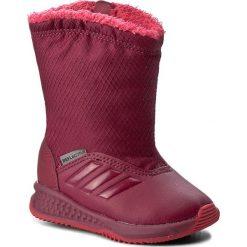 Śniegowce adidas - RapidaSnow I BY2603  Bordowy. Buty zimowe dziewczęce marki Adidas. W wyprzedaży za 159.00 zł.