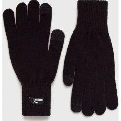 Puma - Rękawiczki. Czarne rękawiczki męskie Puma, z dzianiny. Za 79.90 zł.