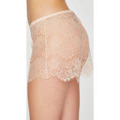 Undiz - Szorty piżamowe Rendiz. Różowe piżamy damskie Undiz, z materiału. W wyprzedaży za 49.90 zł.