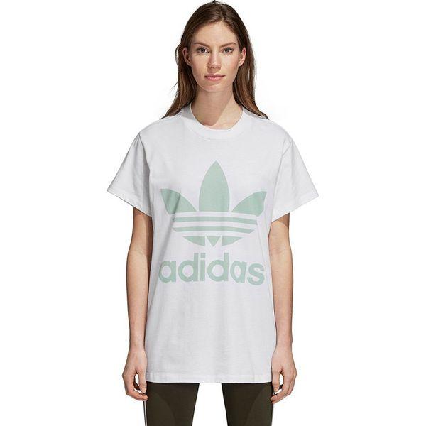 najlepiej autentyczne sklep internetowy ograniczona guantity Adidas Koszulka damska Trefoil biała r. 32 (DH4428)