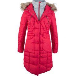 Płaszcz pikowany w optyce 2 w 1 bonprix czerwony. Płaszcze damskie marki FOUGANZA. Za 249.99 zł.