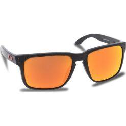 Okulary przeciwsłoneczne OAKLEY - Holbrook Xl OO9417-0459 Matte Black/Prizm Ruby. Czarne okulary przeciwsłoneczne męskie Oakley, z tworzywa sztucznego. W wyprzedaży za 479.00 zł.