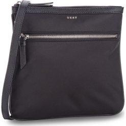 Torebka DKNY - Kaden- Zip Crossbody R81EE397 Black/Silver BSV. Czarne listonoszki damskie DKNY, z materiału. Za 379.00 zł.