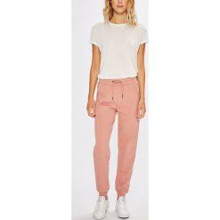 Tommy Hilfiger - Spodnie piżamowe. Szare piżamy damskie Tommy Hilfiger, z bawełny. W wyprzedaży za 219.90 zł.