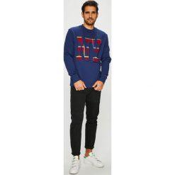 Tommy Hilfiger - Bluza. Szare bluzy męskie Tommy Hilfiger, z nadrukiem, z bawełny. Za 599.90 zł.