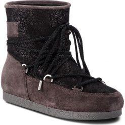 Śniegowce MOON BOOT - F.Side Low Suede Gl. 24200200002 Black. Czarne śniegowce i trapery damskie Moon Boot, ze skóry. Za 849.00 zł.