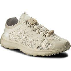 Buty THE NORTH FACE - Litewave Flow Lace T92VV2K82 Vintage White/Vintage White. Brązowe obuwie sportowe damskie The North Face, z materiału. W wyprzedaży za 259.00 zł.