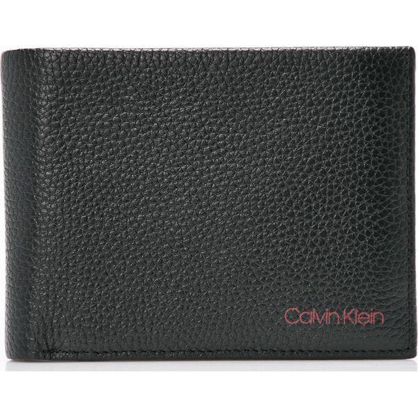 9bff5a7d0c772 Calvin Klein - Portfel skórzany - Czarne portfele męskie marki ...