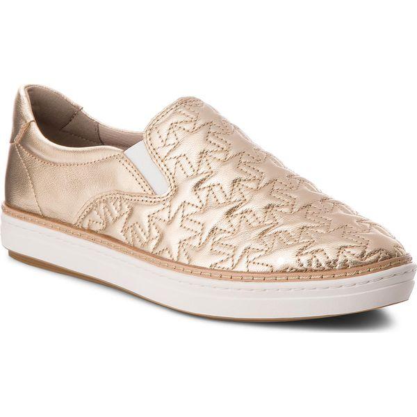 afbae2d226679 Tenisówki TOMMY HILFIGER - Star Metallic City Sneaker FW0FW02980 Mekong 709  - Półbuty damskie marki Tommy Hilfiger. W wyprzedaży za 279.00 zł.