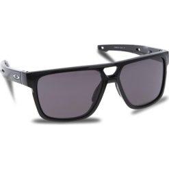 Okulary przeciwsłoneczne OAKLEY - Crossrange Patch OO9382-0160 Polished Black/Warm Grey. Czarne okulary przeciwsłoneczne męskie Oakley, z tworzywa sztucznego. W wyprzedaży za 509.00 zł.