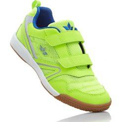 Buty sportowe Brütting bonprix zielona limonka - niebieski. Buty sportowe chłopięce marki bonprix. Za 79.99 zł.